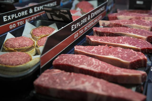 A selection of meat at Glazier's food marketplace on Thursday, Nov. 10, 2016, in Las Vegas. Erik Verduzco/Las Vegas Review-Journal Follow @Erik_Verduzco
