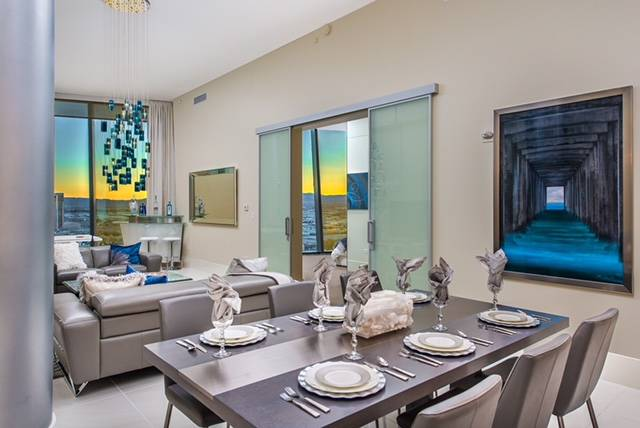 The last Veer Towers penthouse measures 2,014 square feet and has two bedrooms. (Veer Towers)
