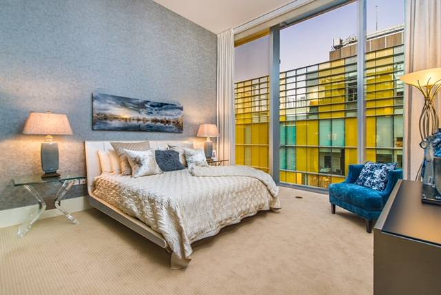 The Veer Towers penthouse has two bedrooms and is on the 36th floor of the west tower. (Veer Towers)