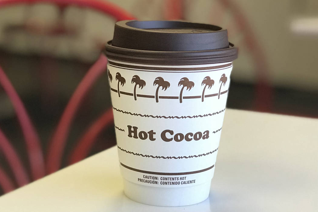 The new hot cocoa available at In-N-Out. In N Out