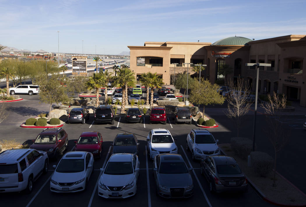 The Red Rock Business Center in Las Vegas, Thursday, Jan. 4, 2018. Erik Verduzco/Las Vegas Review-Journal