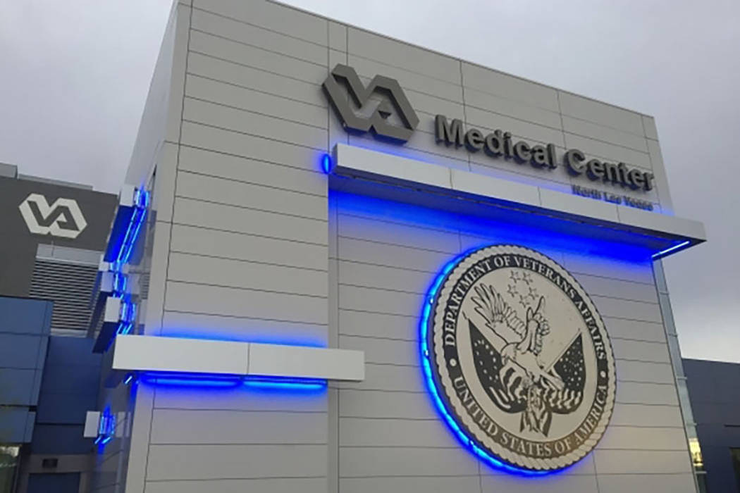 North Las Vegas VA Medical Center (Keith Rogers/Las Vegas Review-Journal)