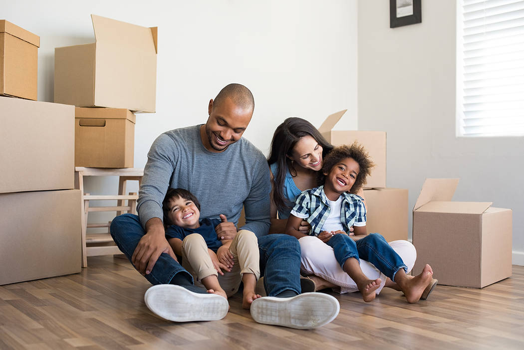 Sticking to a budget can help you save for a down payment to get you and your family into that new home. (THINKSTOCK)