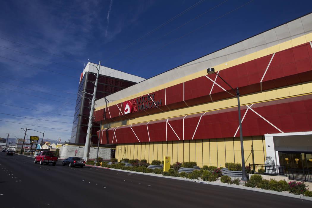 The Lucky Dragon hotel-casino in Las Vegas, Thursday, Jan. 4, 2018. Erik Verduzco/Las Vegas Review-Journal