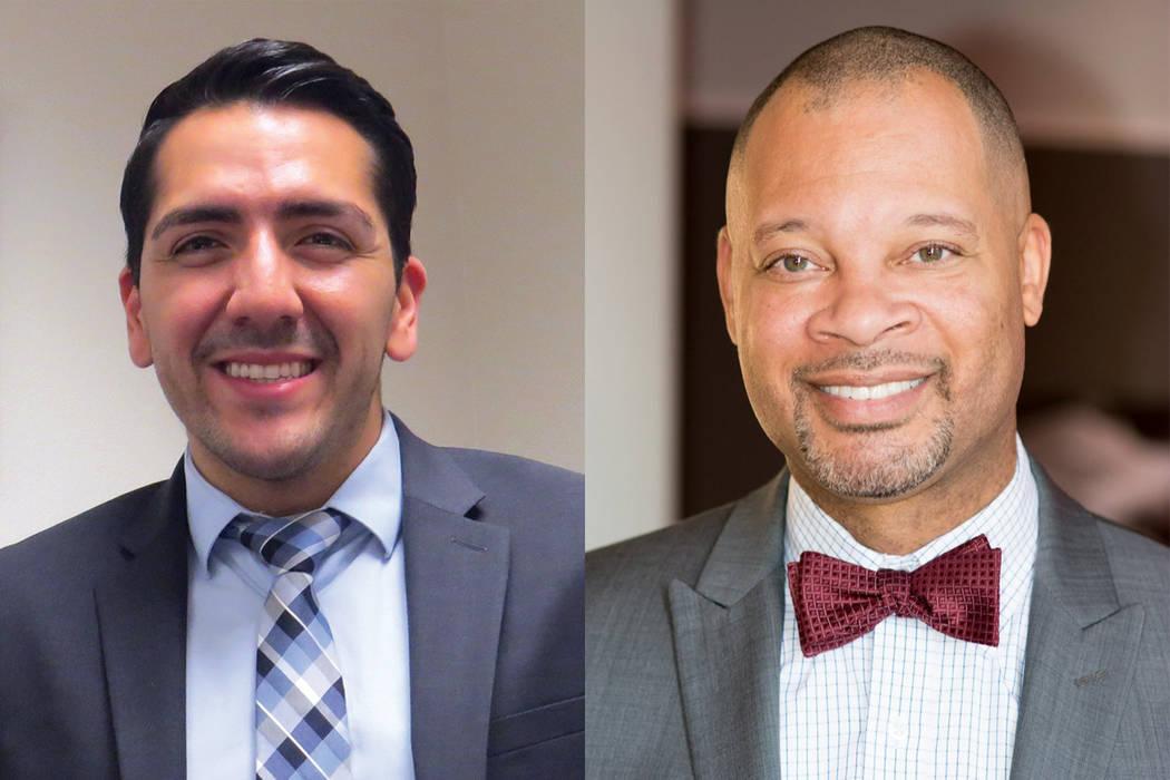 El senador estatal por el Distrito 11, Aarón Ford (Foto cortesía), anunció su candidatura para Procurador General de Nevada; mientras que el asambleísta por el Distrito 3, Nelson Araujo (Foto  ...