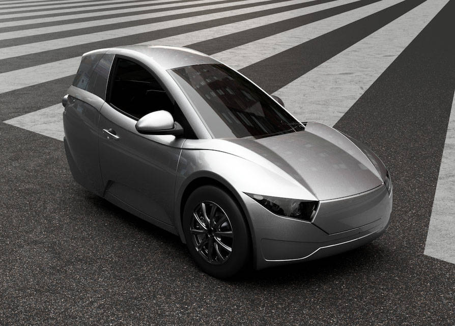 Electra Meccanica will be showing its Solo three-wheeled models at CES 2018 in Las Vegas. Electra Meccanica