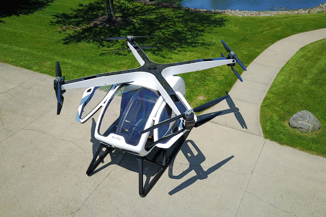 SureFly will unveil a personal helicopter for under $200,000 at CES 2018 in Las Vegas. Workhorse