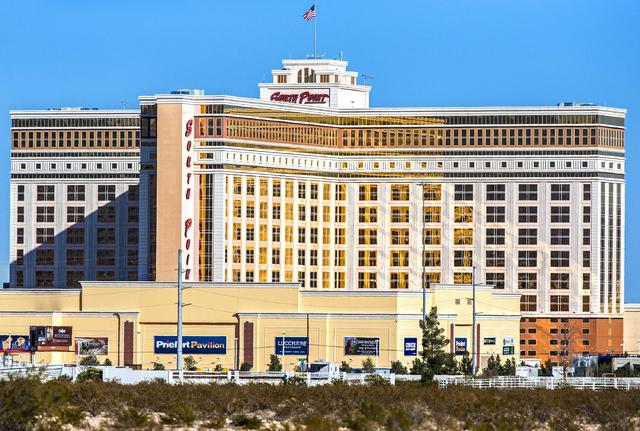 South Point hotel-casino on Friday, Nov. 25, 2016, in Las Vegas. Benjamin Hager/Las Vegas Review-Journal