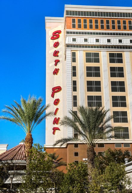 South Point hotel-casino on Friday, Nov. 25, 2016, in Las Vegas. Benjamin Hager/Las Vegas Review-Journal