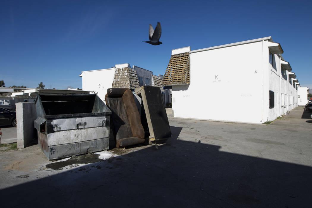 The Desert Garden Condominiums in Las Vegas, Friday, Jan. 5, 2018. Erik Verduzco/Las Vegas Review-Journal