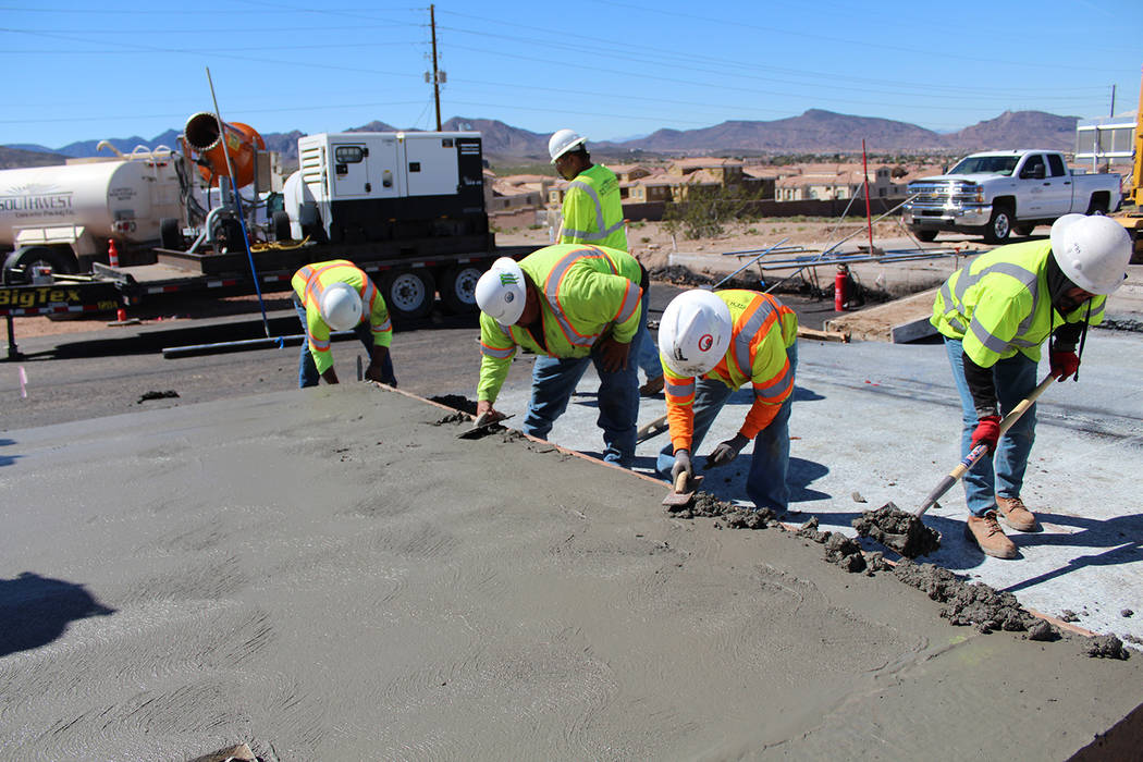A 2 1/2-mile stretch of northbound Interstate 11, between Silverline Road and Foothill Drive, is scheduled to open Feb. 1. Nevada Department of Transportation.