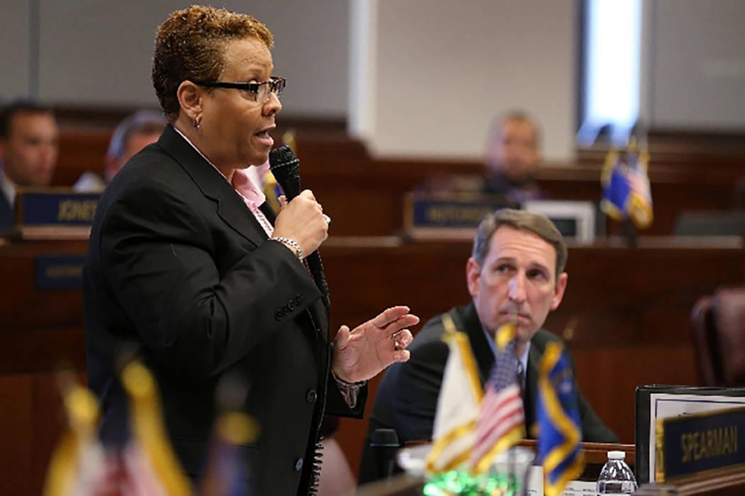 State Sen. Patricia Spearman of North Las Vegas. (Las Vegas Review-Journal file)