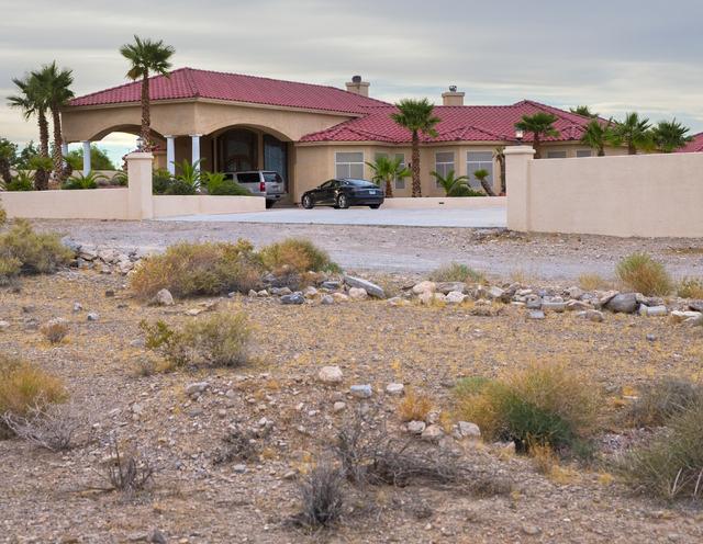 10280 W. La Mancha Avenue on Tuesday, Sept. 20, 2016, in Las Vegas. Benjamin Hager/Las Vegas Review-Journal