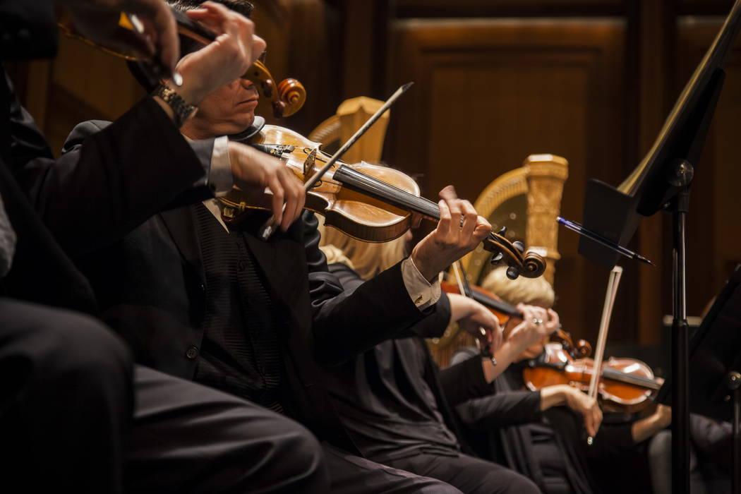 Las Vegas Philharmonic musicians perform. (Credit: Las Vegas Philharmonic.)