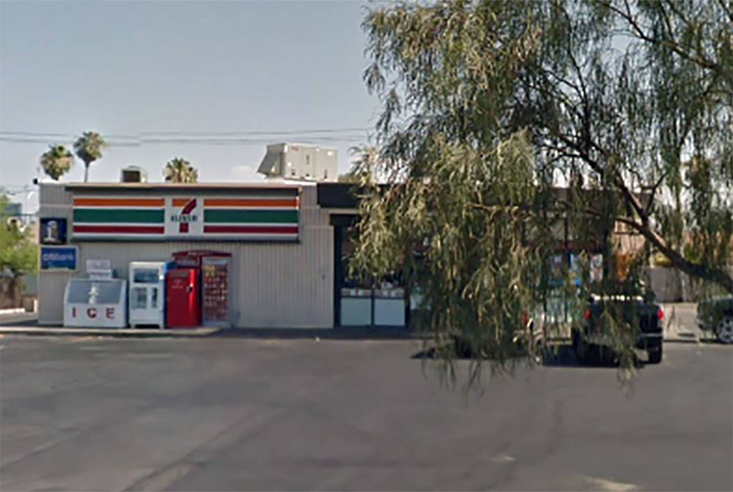 The 7-Eleven convenience store at 4325 Sahara Ave. in Las Vegas (Google maps)