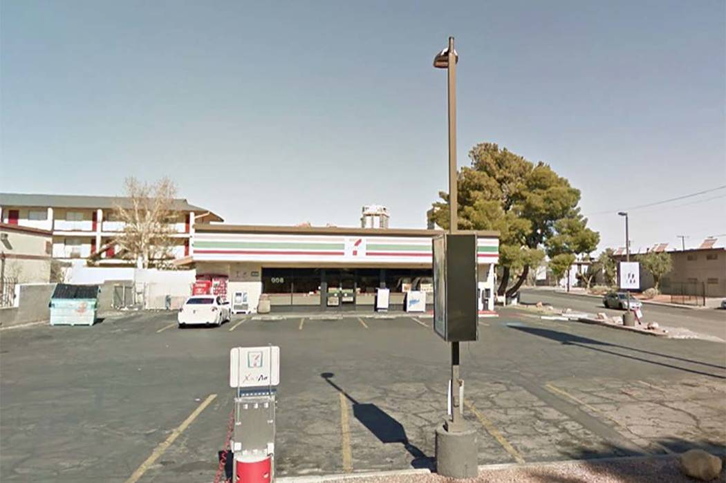 998 Sierra Vista Drive, Las Vegas (Google)