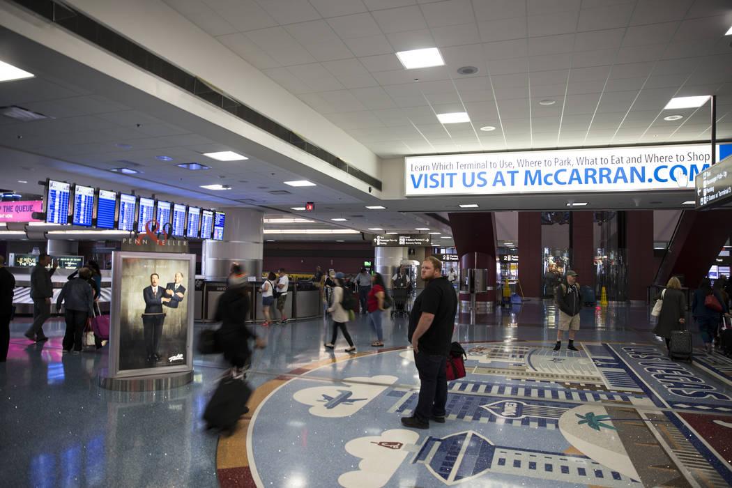 Terminal 1 At Mccarran International Airport In Las Vegas Erik Verduzco