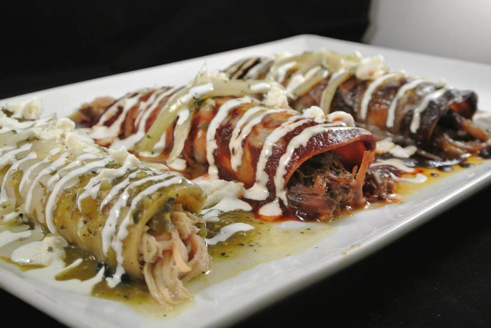 Leticia's enchiladas come with your choice of meat. (Leticia's)