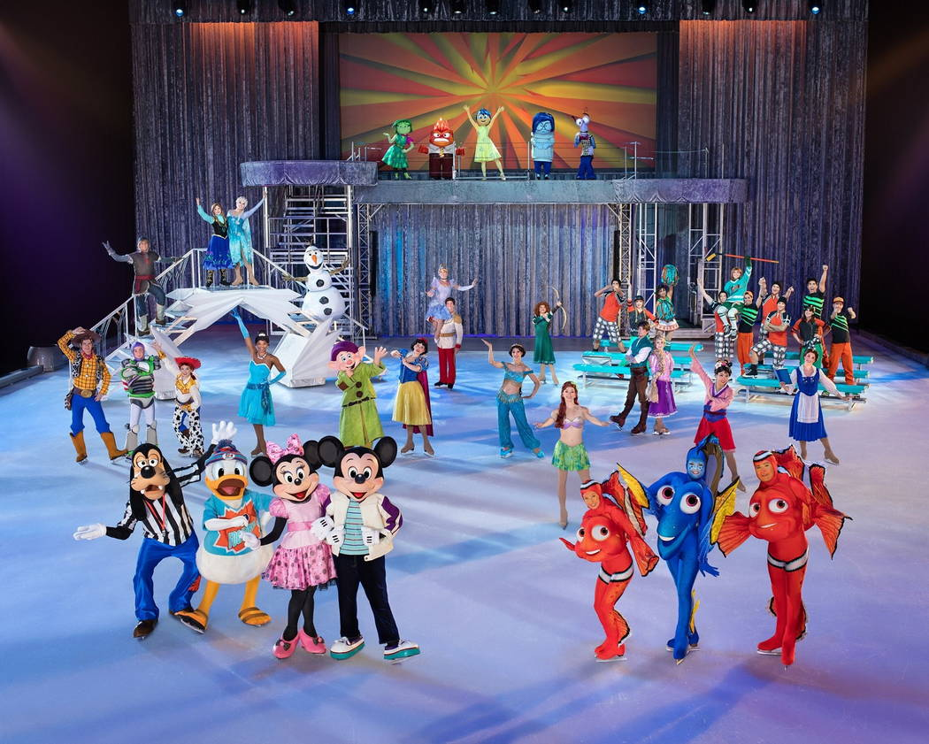 "Disney on Ice's ""Follow Your Heart."""