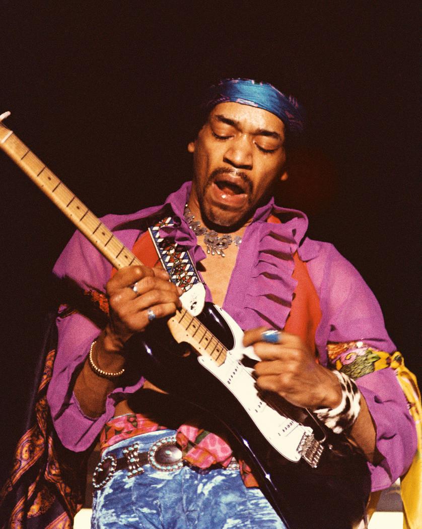 Jimi Hendrix. Photo by Robert Knight