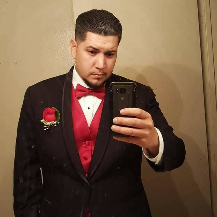 Phillip Albert Archuleta, 28, was working the night shift as a security guard at Arizona Charlie's when he was shot and killed responding to a call. Photo courtesy of Lisa Garcia.