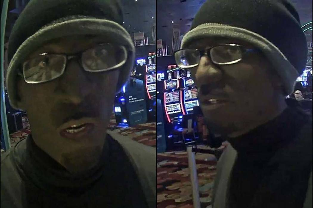Suspect in robbery at New York-New York, Wednesday, July 10, 2018. (Las Vegas Metropolitan Police Department)