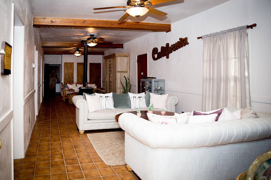 The five-room Nipton hotel was refurbished. (Tonya Harvey Real Estate Millions)