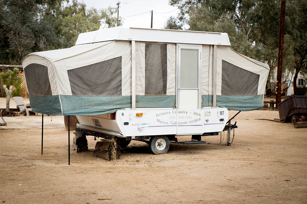 Nipton has a recreational vehicle camping site. (Tonya Harvey)