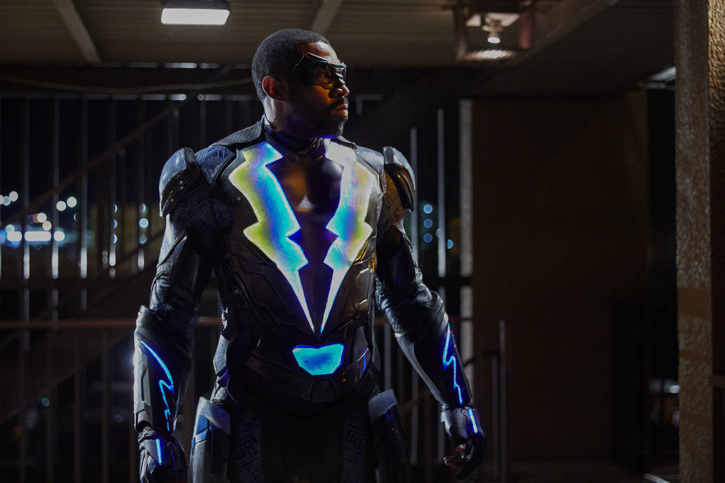 "Black Lightning -- ""The Resurrection"" -- Image BLK101d_0100 -- Pictured: Cress Williams as Jefferson Pierce/Black Lightning -- Photo: Bob Mahoney/The CW -- © 2017 The CW Network, LLC. All rights  ..."