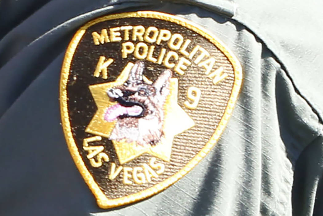 Las Vegas Metropolitan Police Department, K-9 unit (Las Vegas Review-Journal)