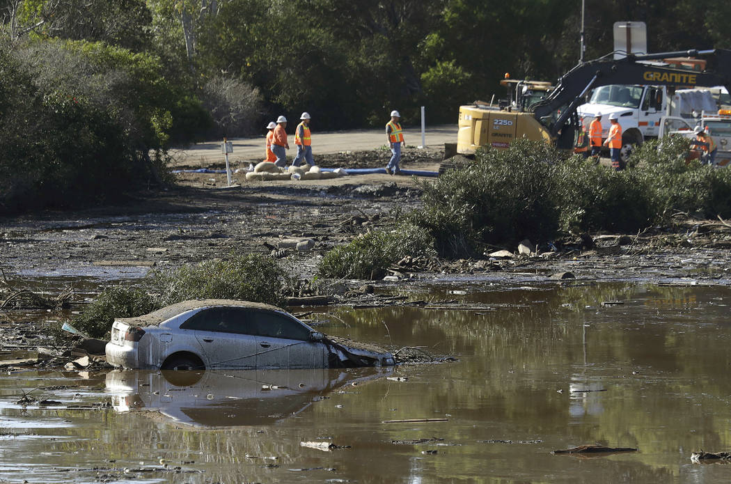 See Images of Devastating Rain, Flooding, and Mud in Southern California