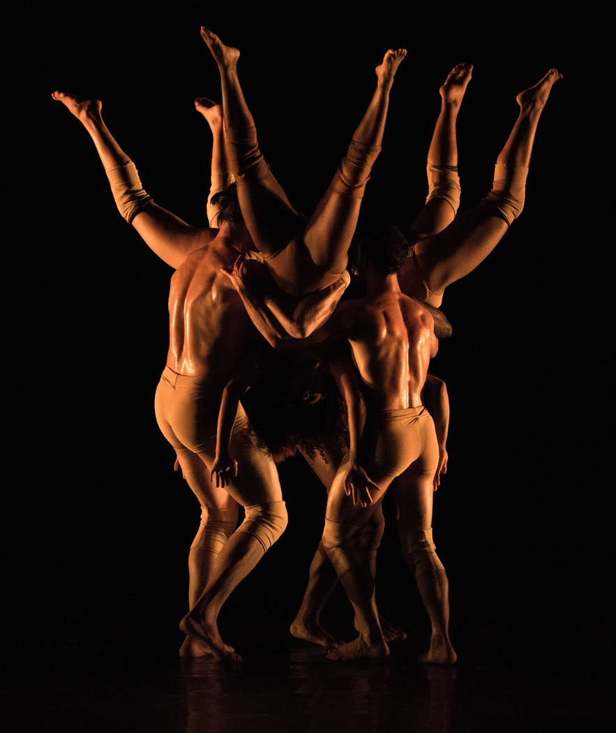 """Branches,"" part of the Pilobolus dance troupe's ""Pilobolus Maximus,"" coming to The Smith Center Jan. 23, 2018."