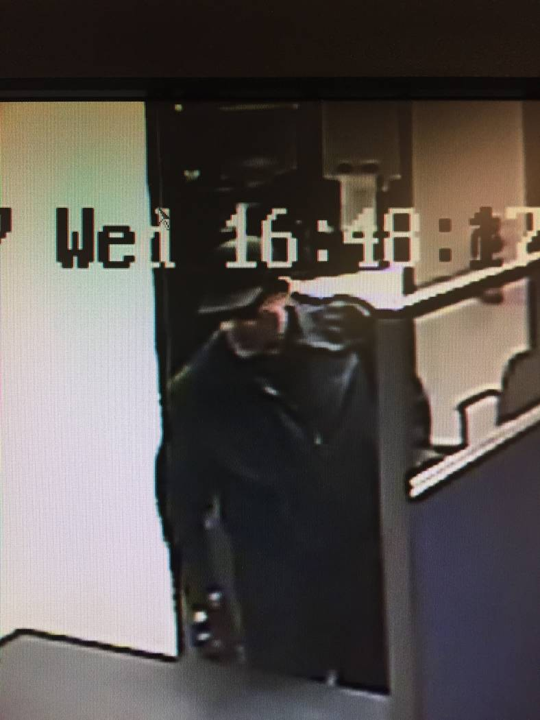 Las Vegas police are looking for a man wanted in connection with a recent string of robberies. (Las Vegas Metropolitan Police Department)