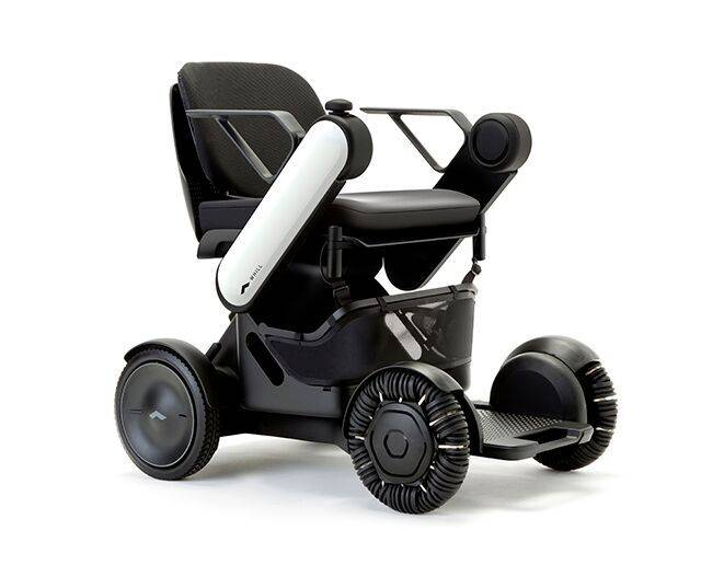Whill personal electric vehicle.