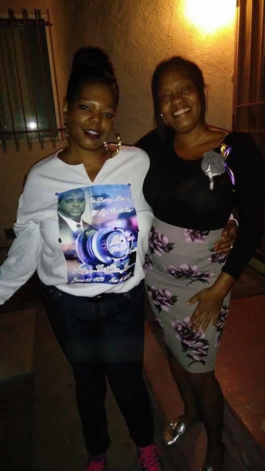Kaisha Jones, left and Tina Jackson. (Kaisha Jones)