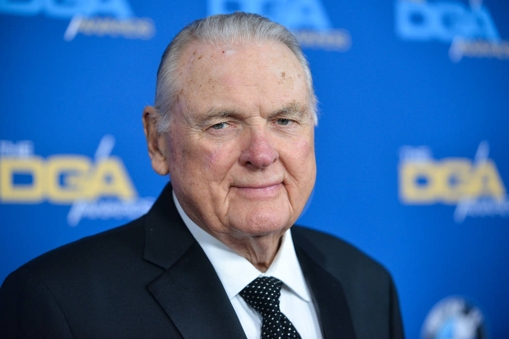 Keith Jackson arrives at 66th Annual DGA Awards Dinner at the Hyatt Regency Century Plaza Hotel on Saturday Jan. 25 2014 in Los Angeles Calif