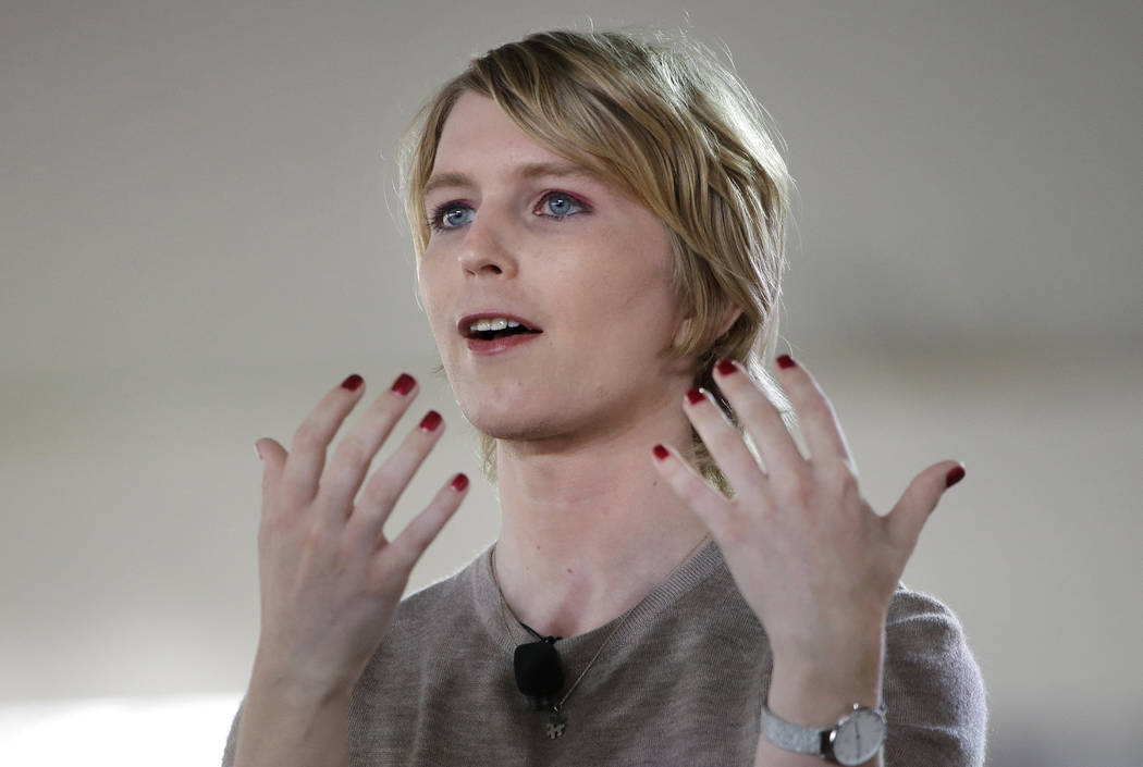 Chelsea Manning files for US Senate run in Maryland
