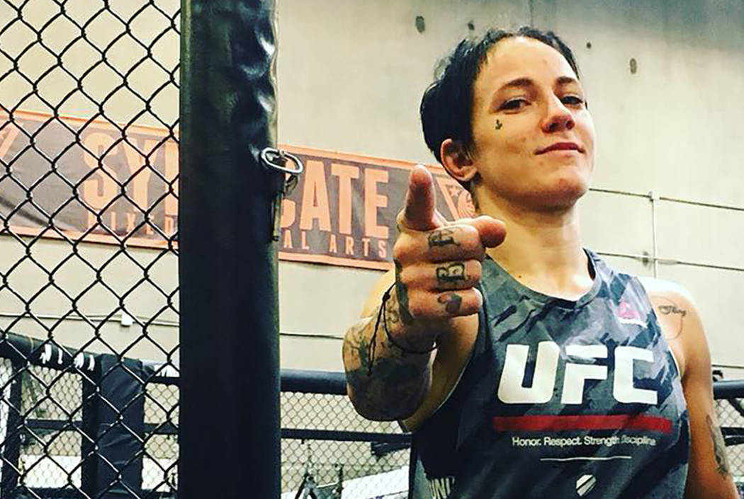 Jessica-Rose Clark Bests Paige VanZant In St. Louis