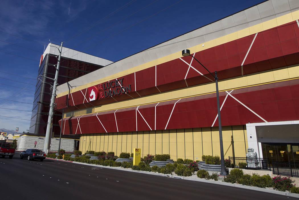 The Lucky Dragon hotel-casino in Las Vegas, Thursday, Jan. 4, 2018. (Erik Verduzco/Las Vegas Review-Journal)