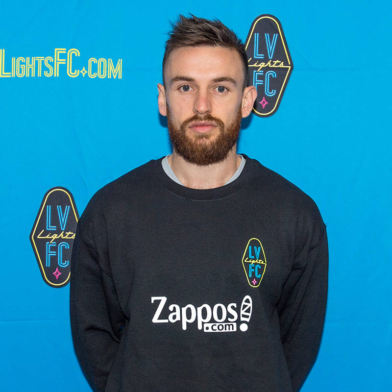 Zak Drake, 26, a defender, has signed a preseason contract with Las Vegas Lights FC, the club announced Tuesday, Jan. 16, 2018. (Las Vegas Lights FC)