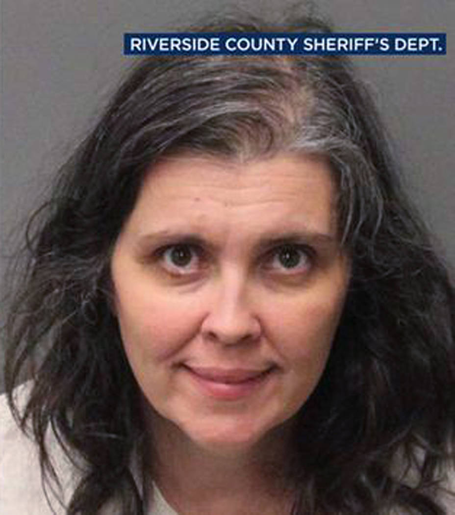 Louise Anna Turpin on Sunday, Jan. 14, 2018. (Riverside County Sheriff's Department via AP)