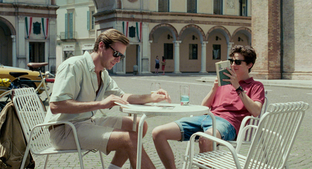 "Armie Hammer and Timothee Chalamet in ""Call Me by Your Name."" (Sony Pictures Classics)"