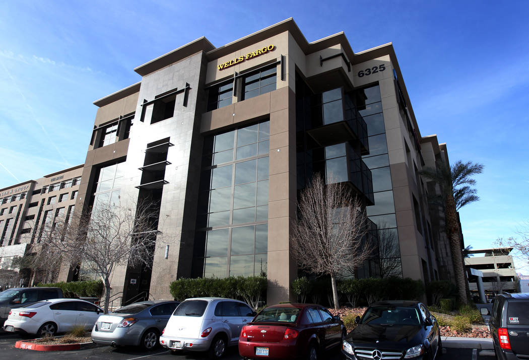 An office building at 6325 S. Rainbow Blvd. in Las Vegas Wednesday, Jan. 17, 2018. Investors bought the building for $33 million, more than triple what the sellers paid. K.M. Cannon Las Vegas Revi ...