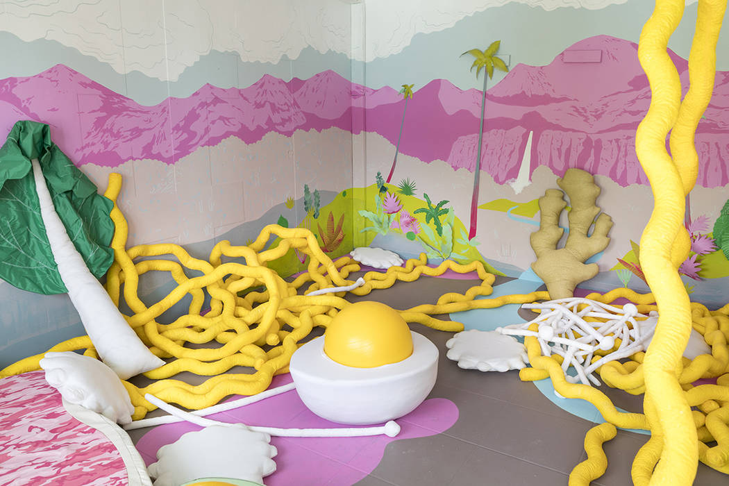 Artists from Sante Fe-based art collective Meow Wolf decorated 21 rooms as part of Life is Beautiful Festival in September 2017. (Meow Wolf)