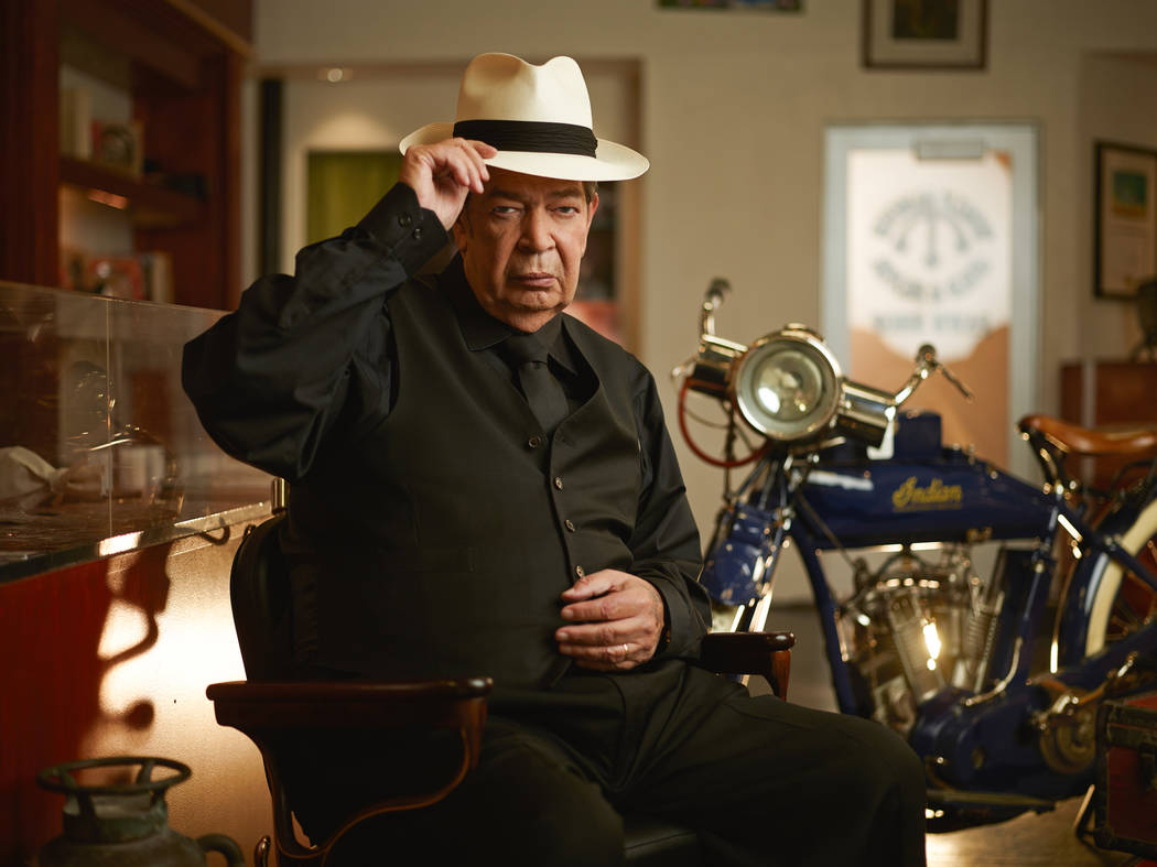 """Richard Harrison scaled back his """"Pawn Stars"""" appearances about a year ago. (Joey L./History)"""