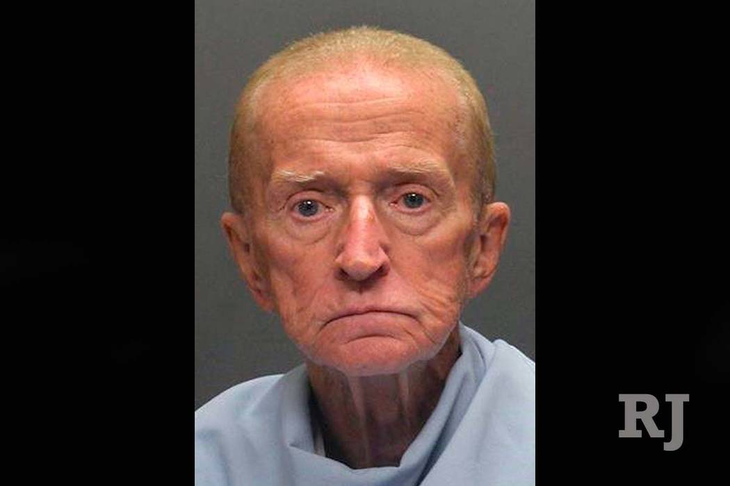 This Sunday, Jan. 14, 2018, photo released by the Tucson Police Department shows suspect Robert Francis Krebs, an 80-year-old man they say robbed a credit union at gunpoint. (Tucson Police Departm ...