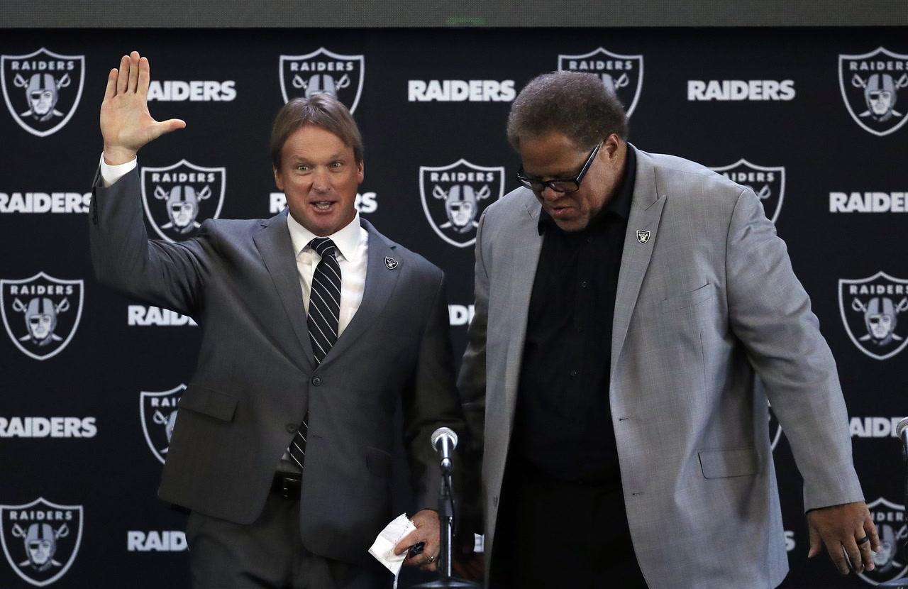 Who will speak loudest for Raiders — Jon Gruden or Reggie McKenzie ... 447353118