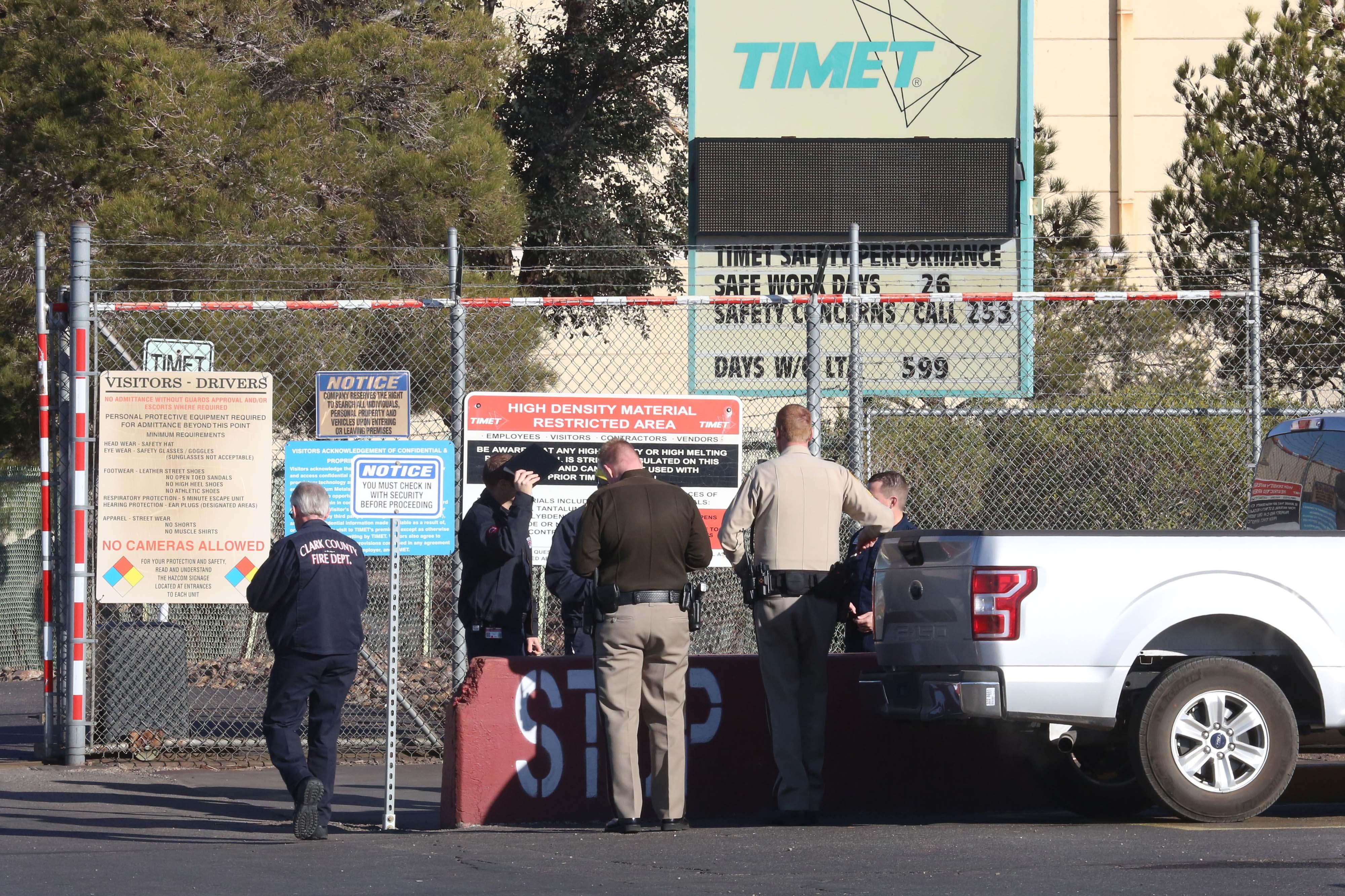 Blast rocks TIMET plant near Henderson | Las Vegas Review