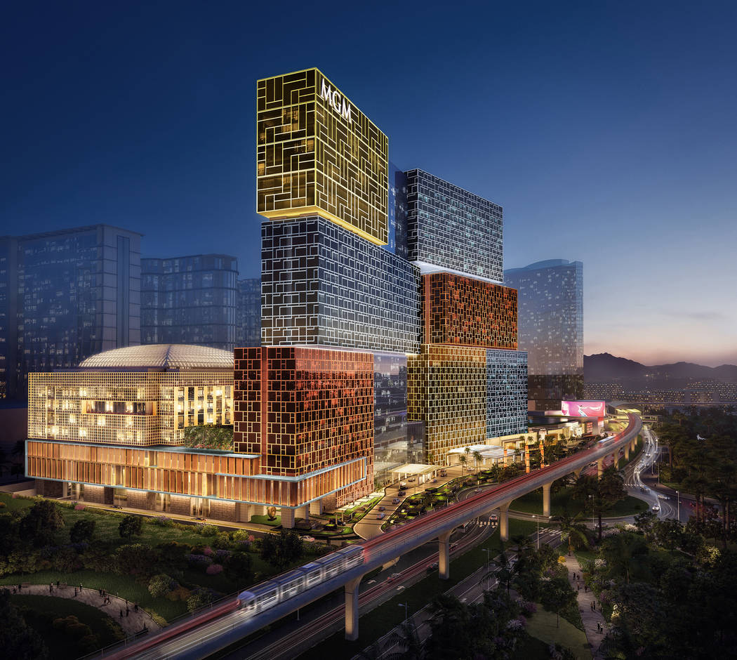 MGM Cotai rendering. (MGM)
