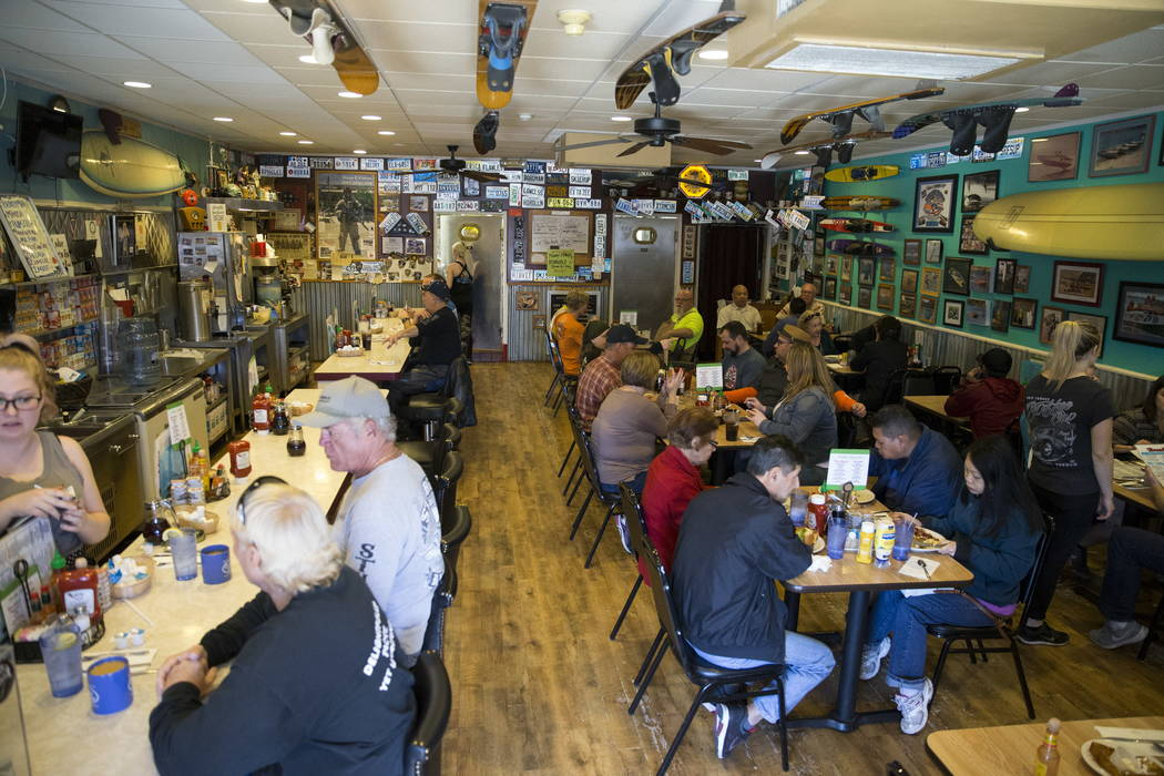 The Coffee Cup during the morning shift in Boulder City, Thursday, Feb. 8, 2018. Erik Verduzco Las Vegas Review-Journal @Erik_Verduzco